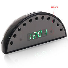 HD 1080P Night Vision Alarm Clock Camera DVR Digital Video Nanny Cam /w Remote