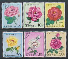 Korea - 1979, Roses set - CTO - SG N1837/42