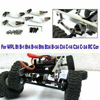 For WPL B1 B14 B16 B24 C14  C24 RC Car Lifting Metal Lugs+Large Race Plate Parts