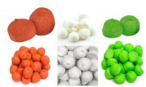 Christmas Sweet Bundle  3 x 500g Red White Green Paintball Marshmallows