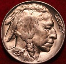 Uncirculated 1930 Philadelphia Mint  Buffalo Nickel