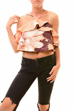 Keepsake Women's  Top Sleeveless Peach Floral Size S RRP £150 BCF78