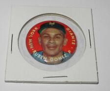 1956 Topps Baseball Pin Button Coin Pinback Ruben Gomez New York Giants v2