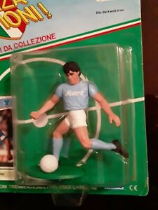 Vintage DIEGO MARADONA action figure KENNER toy FORZA CAMPIONI soccer CARD