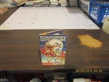 CFL Montreal Concordes Vintage 1984 Pocket Schedule