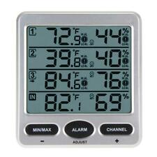 Funk Thermometer Digital LCD Temperatur Hygrometer Termometer Luftfeuchtigkeit