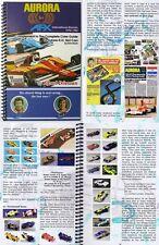 2000 AURORA COLOR HO Slot Car Guide 160pg plus 2009 Aurora International Guide S