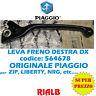 LEVA FRENO DESTRA DX ORIGINALE PIAGGIO per ZIP SP 50 2001 2002 2003 2004