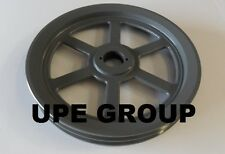 "Cast Iron pulley SHEAVE  12.75"" for electric motor 2 groove for B & 5L 5/8 belts"