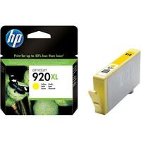 GENUINE HP 920XL YELLOW INK CARTRIDGE 6000 6500 7000 6500A 7500A WF FAST POSTAGE