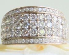 Genuine 1.30ct Diamond Ring In 9K Solid Yellow Gold