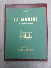 Tintin - Hergé - Albums de chromos La Marine Tome 2 -  BIEN COMPLET  (1963) TBE