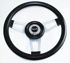 "Barracuda Cuda Fury Belvedere Grant Black Steering Wheel 13 3/4"" Shallow Dish"