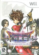 Dragon Quest Swords: Masked Queen Tower of Mirrors Nintendo Wii 12+ RPG Game