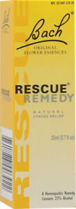 Rescue Remedy by Bach Flower Remedies, 20 ml