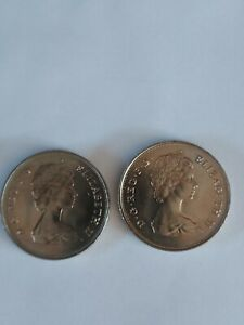 Two Charles And Diana Commemorative Crown Coins 1981