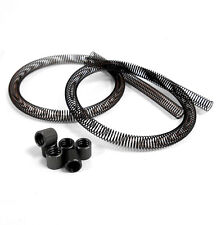 51852U Brown Fuel Line Pipe Guard Protector Spring x 2 With Washers