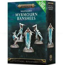 Warhammer Age of Sigmar Nighthaunt Myrmourn Banshees