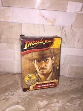 INDIANA JONES PLAYING CARDS ALL FOUR MOVIES
