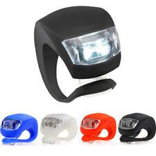 Silicone Vélo Bicyclette Cyclisme tête avant arrière ROUE LED Fluo Lumière Lampe
