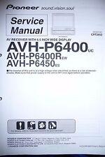 Service Manual für Pioneer AVH-P6400/AVH-P6450,ORIGINAL