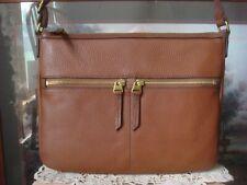 Fossil Elise Large Leather Crossbody Handbag Brown SHB2056210