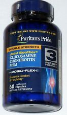 DOUBLE STRENGTH GLUCOSAMINE CHONDROITIN & MSM JOINT CARTILAGE SUPPLEMENT 60 CAPS