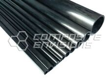 Carbon Fiber Pultruded Round Tube 10mm OD x 8mm ID x 1.2m