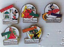 lot 5 pin's Euro Disney