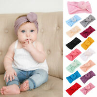 Kids Girls Newborn Baby Toddler Knot Headband Hair Band Headwear Accessories