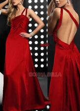 Satin Backless Dresses for Women