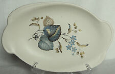 Vintage Leaf Pattern Sandwich Platter - Axe Vale Pottery