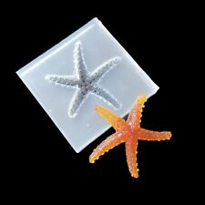 Silicone DIY Starfish Mould Resin Jewelry Pendant Molds Tool Making Tools Craft