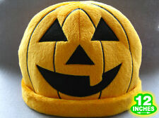 30CM Halloween Pumpkin Hat Cap Anime Stuff Plush Warm Cosplay HPHT8888