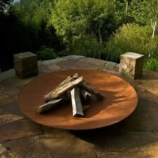 80cm Corten Steel Fire Pit Garden Burner with 1x FREE Pouch of Eco Fire Lighters