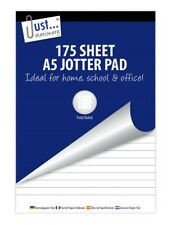 A5 Jotter Pad 175 Sheets Lined Ruled Paper Office School Writing Notepad - 4692