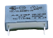 2 condensateurs MKP Y2/X1 220-230V 0,01µF 0.01µF 10nF 103K 103 K 300Vac 15mm uF