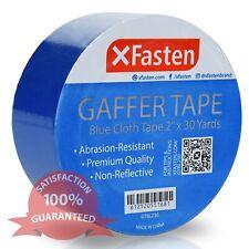 XFasten Gaffer Tape, 2 Inch x 30 Yards (Blue)