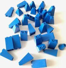 LEGO 32X BRICK PILASTRI COLONNE MEDI MIX BLU LOTTO KG SPED GRATIS SU + ACQUISTI