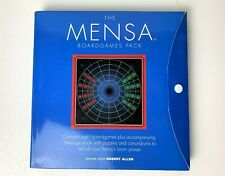 New - The Mensa Boardgames Pack, Board Game Logic Puzzles, By Rober Allen