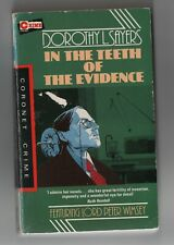 DETECTIVE BOOK * IN THE TEETH OF THE EVIDENCE * DOROTHY L. SAYERS