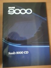 Saab 9000 CD, 1988, 24 Seiten