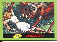 Mars Attacks Heritage Green Parallel Base Card #30    Trapped!!