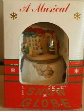 Snow globe toy shop Santa's World Musical
