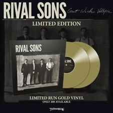 """Rival Sons 'Great Western Valkyrie' Gatefold 2x12"""" Gold Vinyl - NEW"""