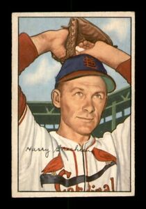 1952 Bowman Set Break # 176 Harry Brecheen EX *OBGcards*