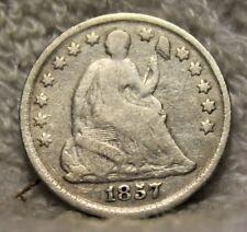 1857 seated half dime