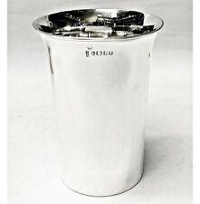 Antique Silver Beakers 1878 Walker & Hall stock id 8725