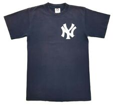 Vintage New York Yankees Mickey Mantle Tee Navy Size M Mens T Shirt NY Majestic