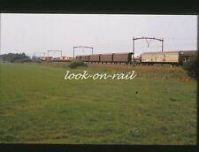 N1230 - Dia slide 35mm original Eisenbahn Holland, NS Güterwagen, '80s